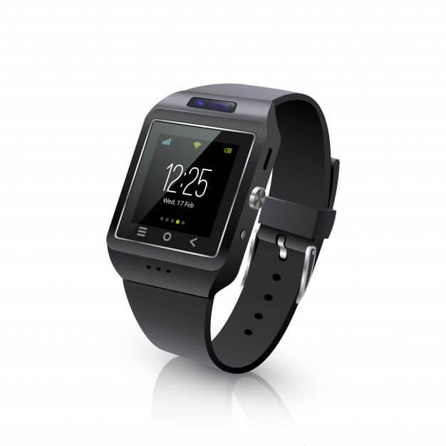 smart watch realistic image black 1284 11873 - ساعت هوشمند هوآوى بهتر است يا ساعت هوشمند شيائومى؟
