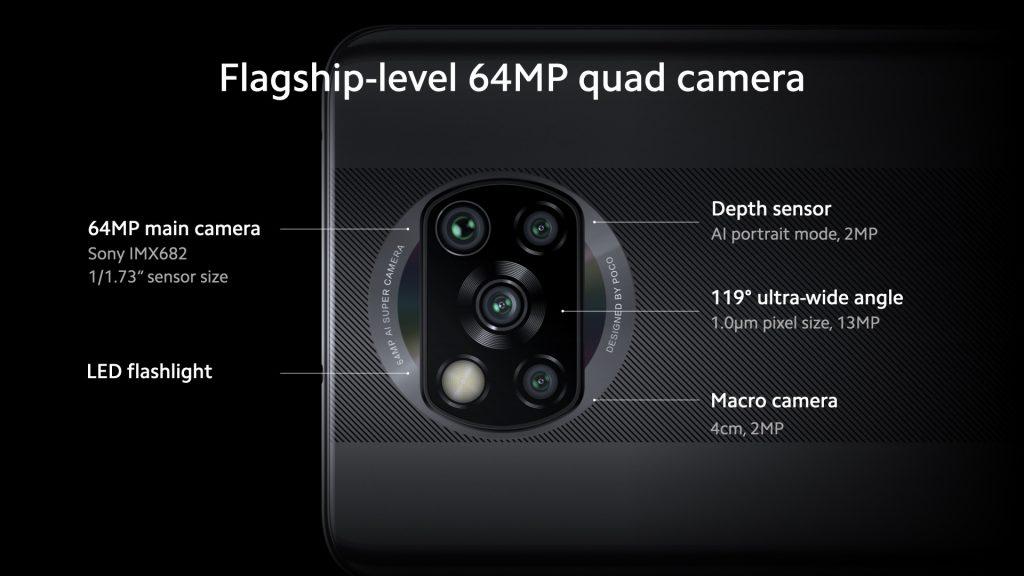 1599484101 poco x3 nfc camera 1024x576 - آنباکسینگ شیائومیpoco x3؛ بررسی مشخصات شیائومی پوکو ایکس3 +جعبه گشایی