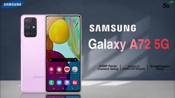 Samsung Galaxy A72 1 min - اخبار مربوط به گلکسی  A52 و گلکسی A72،لو رفت!
