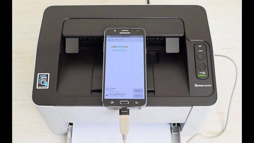 otg to printer 1030x579 1 1024x576 - USB OTG رابط بین دو گوشی؛7 کاربردی که نمیدانستید!