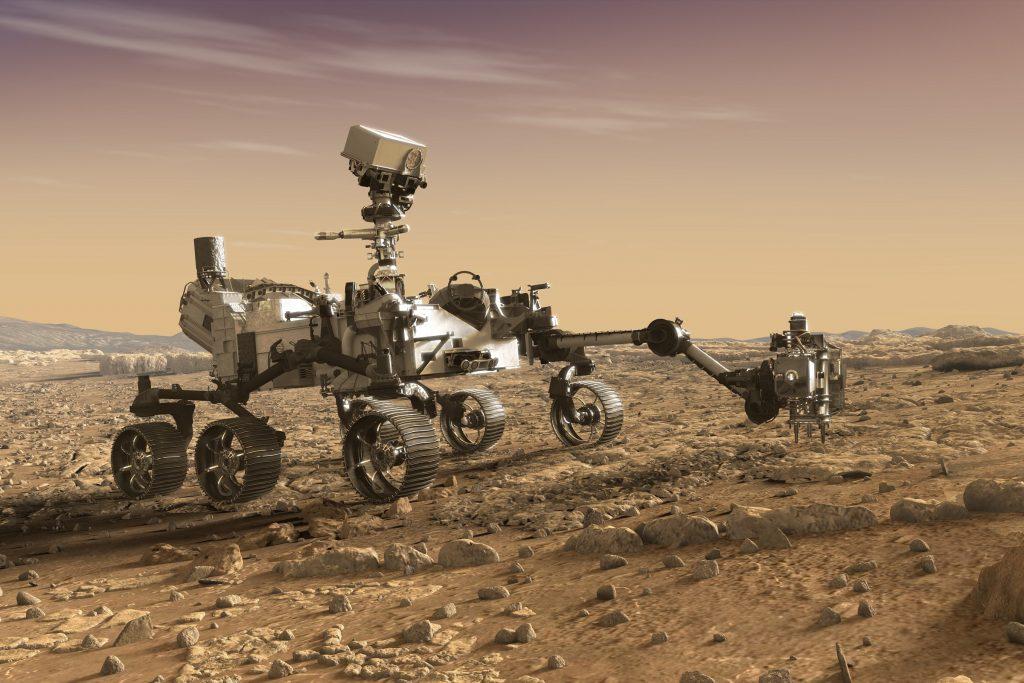 perseverance rover 1024x683 - ویدئو جذاب از مریخ نورد ناسا؛ کاوشگری با امکانات فرازمینی