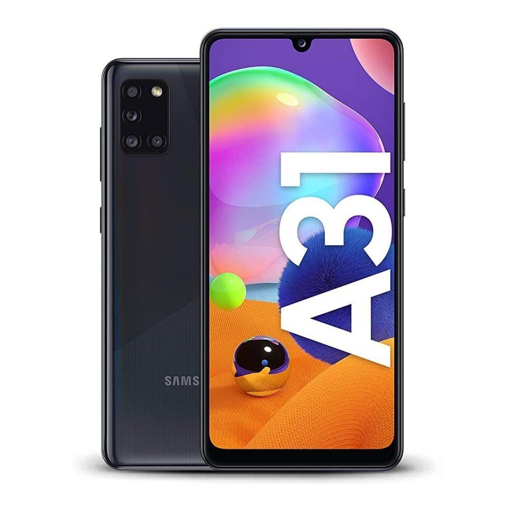 گوشی سامسونگ Samsung Galaxy A31 فروشگاه اینترنتی گوگل کالا Googlekala.com مشکی 1024x1024 - مقایسه گوشی گلکسی a31 و a32؛ کیفیت بالا قیمت مناسب