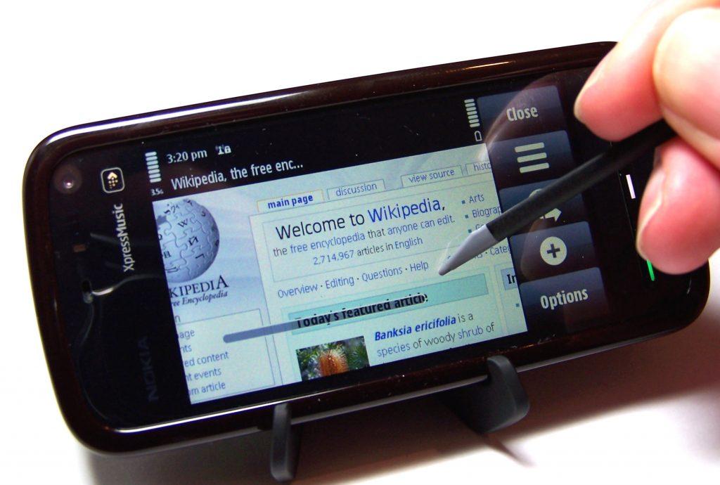 مشخصات گوشی نوکیا 5800