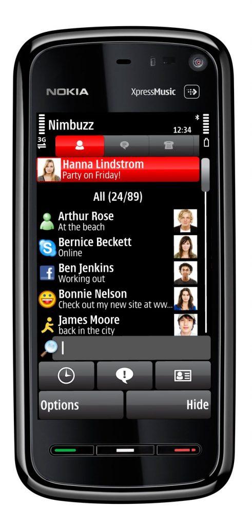 Nokia 5800 XpressMusic 352 491x1024 - مشخصات گوشی نوکیا 5800