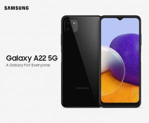 معرفی سامسونگ گلکسی A22 5G+ قیمت و مشخصات